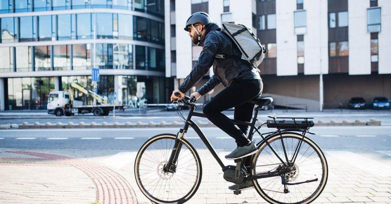 El-sykkel: Som et elektrisk kinderegg!